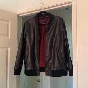 ATWYLD Leather Bomber Jacket M